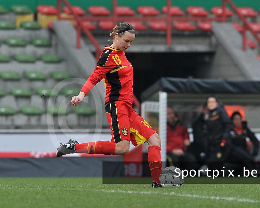 Belgium - The Netherlands : Lore Vanschoenwinkel.foto DAVID CATRY / Vrouwenteam.be