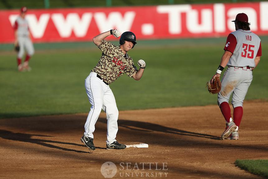 04232012-  Seattle University vs. Washington State University men's baseball at Everett Memorial Stadium<br /> <br /> Ryan Somers