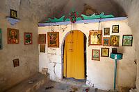 Interior of Ayia Marina,  Paliachora, Aegina, Greek Saronic Islands