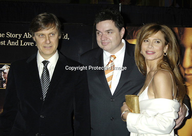 "Lasse Hallstrom, Oliver Platt and Lena Olin ..at a Special Screening of "" Casanova"" on December 11, 2005 at The Loews Lincoln Square Theatre. ..Photo by Robin Platzer, Twin Images"