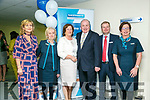 At the Tralee Enterprise Town,Community, Sport and Business Expo at Tralee Sports Complex on Friday were Eileen McNamara, Liz Lane, Siobhan Carr, Gavin Duffy of Dragon's Den, Gerry Enright, Caitriona O'Mahony,