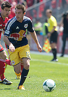 April 27, 2013: New York Red Bulls midfielder Eric Alexander #12 in action during a game between Toronto FC and the New York Red Bulls at BMO Field  in Toronto, Ontario Canada..The New York Red Bulls won 2-1.