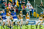 Action from Garvey's Supervalu Kerry SHC Round 3 replay St Brendans v Abbeydorney at Austin Stack Park on Sunday Abbeydorney's Brendan O'Leary and St. brendan's Tom Moloney