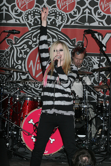 18 April 2007 - New York, NY- Avril Lavigneat her In-Store Performance at Virgin Megastore...