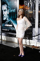 """LOS ANGELES - FEB 16:  Sarah Drew arrives at the """"Unknown"""" Premiere at Village Theater on February 16, 2011 in Westwood, CA"""