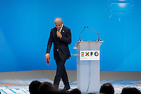 Milano: Roberto Formigoni durante il International Participants Meeting di Expo 2015