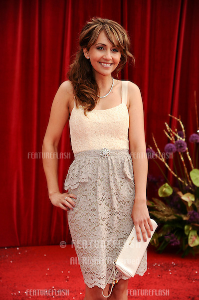 Samia Smith arrives at the British Soap awards 2011 held at the Granada Studios, Manchester..14/05/2011  Picture by Steve Vas/Featureflash