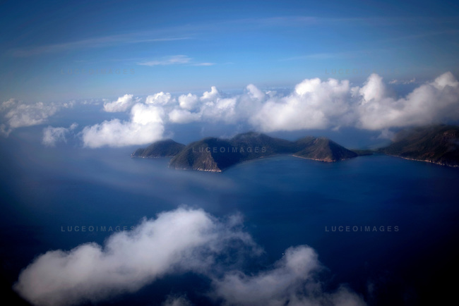 Con Dao Islands as seen from the air.  The 16 mountainous islands and islets are situated about 143 miles southeast of Ho Chi Minh City in Vietnam, in the South China Sea. Photo taken Friday, May 7, 2010...Kevin German / LUCEO For the New York Times