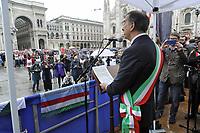- Milano, manifestazione del 25 aprile, anniversario della Liberazione. Il sindaco Beppe Sala<br /> <br /> - Milan, demonstration of April 25, anniversary of Italy's Liberation. The mayor Beppe Sala