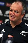 Graham Henry. All Blacks team naming, 5 June 2007, Wellington