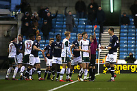 Joe Williams of Barnsley is sent off and starts walking towards the tunnel during Millwall vs Barnsley, Emirates FA Cup Football at The Den on 6th January 2018
