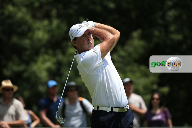 Keith Horne (RSA) in action during Round Three of the 2016 BMW SA Open hosted by City of Ekurhuleni, played at the Glendower Golf Club, Gauteng, Johannesburg, South Africa.  09/01/2016. Picture: Golffile | David Lloyd<br /> <br /> All photos usage must carry mandatory copyright credit (&copy; Golffile | David Lloyd)
