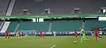 27.06.2020, Fussball: nph00001 1. Bundesliga 2019/2020, 34. Spieltag, VfL Wolfsburg - FC Bayern Muenchen, in der Volkswagen-Arena Wolfsburg. Spiel vor leerer Kulisse<br /><br />Foto: Bernd Feil/M.i.S./ /Pool/nordphoto<br /><br />Nur fŸr journalistische Zwecke! Only for editorial use! <br /><br />GemŠ§ den Vorgaben der DFL Deutsche Fussball: nph00001 Liga ist es untersagt, in dem Stadion und/oder vom Spiel angefertigte Fotoaufnahmen in Form von Sequenzbildern und/oder videoŠhnlichen Fotostrecken zu verwerten bzw. verwerten zu lassen. DFL regulations prohibit any use of photographs as image sequences and/or quasi-video.    <br /><br />National and international NewsAgencies OUT.