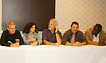 Thomas G. Waite, Deborah Van Valkenburgh, Michael Beck, Terry Michos, Dorsey Wright - The Warriors - 30 years reunion during Q & A at the Super Megashow & Comic Fest on August 30, 2009 in Secaucus, New Jersey (Photo by Sue Coflin/Max Photos)