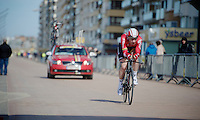 Boris Vallée (BEL/Lotto-Soudal)<br /> <br /> 3 Days of De Panne 2015<br /> stage 3b: De Panne-De Panne TT