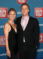 HOLLYWOOD, CA - NOVEMBER 5: Charissa Barton, Alan Tudyk, at Premiere Of Disney's &quot;Ralph Breaks The Internet&quot; at The El Capitan Theatre in Hollywood, California on November 5, 2018. <br /> CAP/MPI/FS<br /> &copy;FS/MPI/Capital Pictures