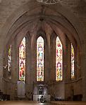 Kirche Saint Hilaire, Meze , Etang de Thau, Languedoc, Canal du Midi, Frankreich, France