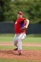 Philadelphia Phillies pitcher Seth Rosin (29) during a minor league spring training intrasquad game on March 27, 2015 at the Carpenter Complex in Clearwater, Florida.  (Mike Janes/Four Seam Images)