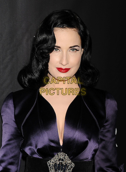 HOLLYWOOD, CA- OCTOBER 29: Model Dita Von Teese attends amfAR LA Inspiration Gala honoring Tom Ford at Milk Studios on October 29, 2014 in Hollywood, California.<br /> CAP/ROT/TM<br /> &copy;TM/ROT/Capital Pictures