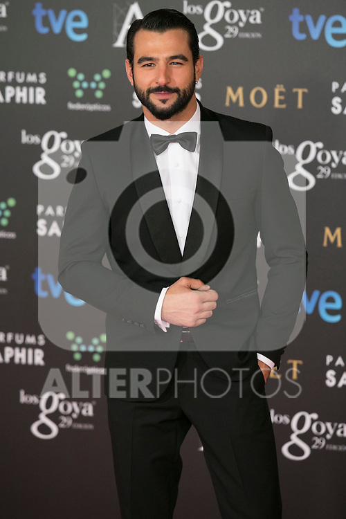 Antonio Velazquez attend the 2015 Goya Awards at Auditorium Hotel, Madrid,  Spain. February 07, 2015.(ALTERPHOTOS/)Carlos Dafonte)