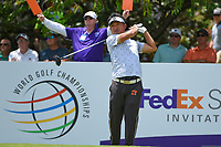 Kodai Ichihara (JPN) watches his tee shot on 13 during round 2 of the WGC FedEx St. Jude Invitational, TPC Southwind, Memphis, Tennessee, USA. 7/26/2019.<br /> Picture Ken Murray / Golffile.ie<br /> <br /> All photo usage must carry mandatory copyright credit (© Golffile | Ken Murray)