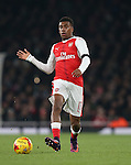 Arsenal's Alex Iwobi in action during the EFL Cup match at the Emirates Stadium, London. Picture date October 30th, 2016 Pic David Klein/Sportimage