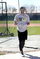 Dustin Fowler - Oakland Athletics 2018 spring training (Bill Mitchell)