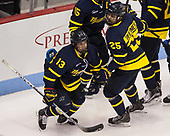 Brett Seney (Merrimack - 14), Sami Tavernier (Merrimack - 25) - The visiting Merrimack College Warriors defeated the Boston University Terriers 4-1 to complete a regular season sweep on Friday, January 27, 2017, at Agganis Arena in Boston, Massachusetts.The visiting Merrimack College Warriors defeated the Boston University Terriers 4-1 to complete a regular season sweep on Friday, January 27, 2017, at Agganis Arena in Boston, Massachusetts.