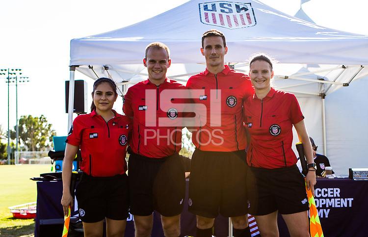 Carson, CA -  July 14, 2017: In the 2016-17 U.S. Soccer Development Academy U-17/18 Semi Finals Colorado Rapids vs Texans SC Houston at StubHub center.