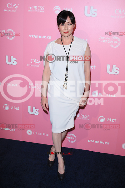 Shannen Doherty at Us Weekly's Hot Hollywood Style Event at Greystone Manor Supperclub on April 18, 2012 in West Hollywood, California. © mpi28/MediaPunch Inc.