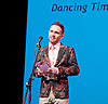 The Critics' Circle National Dance Awards 2016 <br /> at the Lilian Baylis Studio, Sadler's Wells, London, Great Britain <br /> <br /> 6th February 2017 <br /> <br /> Chase Johnsey <br /> DT Best male dancer WINNER <br /> <br /> Photograph by Elliott Franks <br /> Image licensed to Elliott Franks Photography Services