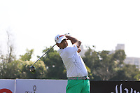 Anirban Lahiri (IND) in action on the 6th during Round 1 of the Hero Indian Open at the DLF Golf and Country Club on Thursday 8th March 2018.<br /> Picture:  Thos Caffrey / www.golffile.ie<br /> <br /> All photo usage must carry mandatory copyright credit (&copy; Golffile | Thos Caffrey)
