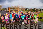 At the Start of the Puck Warriors annual 5k and 10km Jingle Run on Saturday