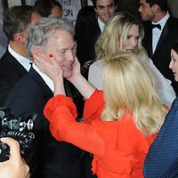 05 June 2019 - New York, New York - David E. Kelley, Michelle Pfeiffer and Jane Krakowski. 2019 Fragrance Foundation Awards held at the David H. Koch Theater at Lincoln Center.    <br /> CAP/ADM/LJ<br /> ©LJ/ADM/Capital Pictures