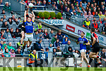 David Moran Kerry in action against Diarmuid O'Connor Mayo in the All Ireland Semi Final in Croke Park on Sunday.