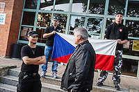 13-09-28 rechter Aufmarsch in Krupka (Tschechien)