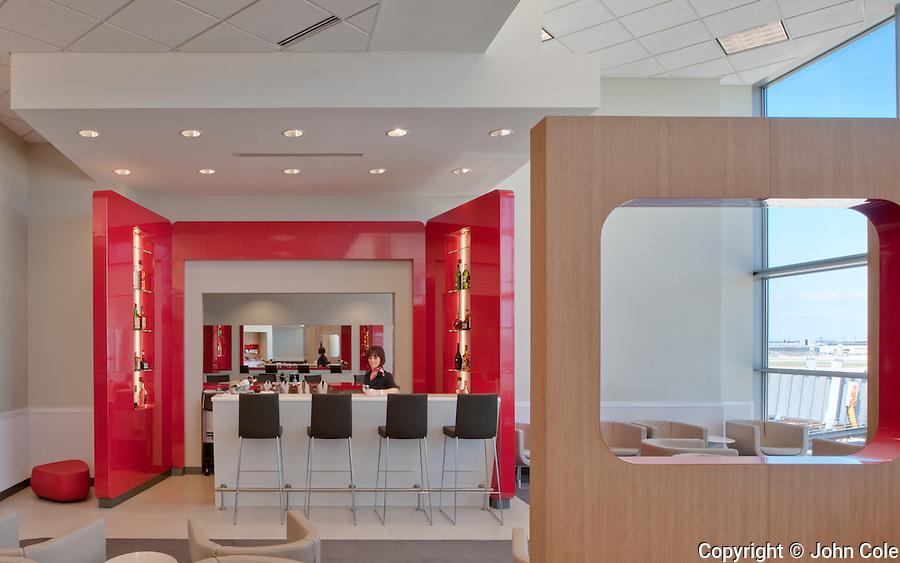 Air France Lounge, Dulles Airport, Giuliani Associates