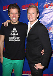 Perez Hilton & Carson Kressley attending the Opening Night Performance of Perez Hilton in 'NEWSical The Musical' at the Kirk Theatre  in New York City on September 17, 2012.