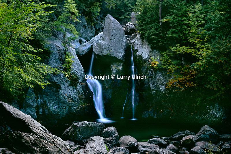 Bash Bish Falls<br /> Bash Bish Falls State Park<br /> The Berkshires<br /> Berkshire County,  Massachusetts