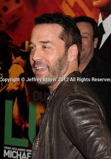 HOLLYWOOD, CA - JANUARY 25: Jeremy Piven attends the Los Angeles Premiere of HBO's 'LUCK' at Grauman's Chinese Theatre on January 25, 2012 in Hollywood, California.