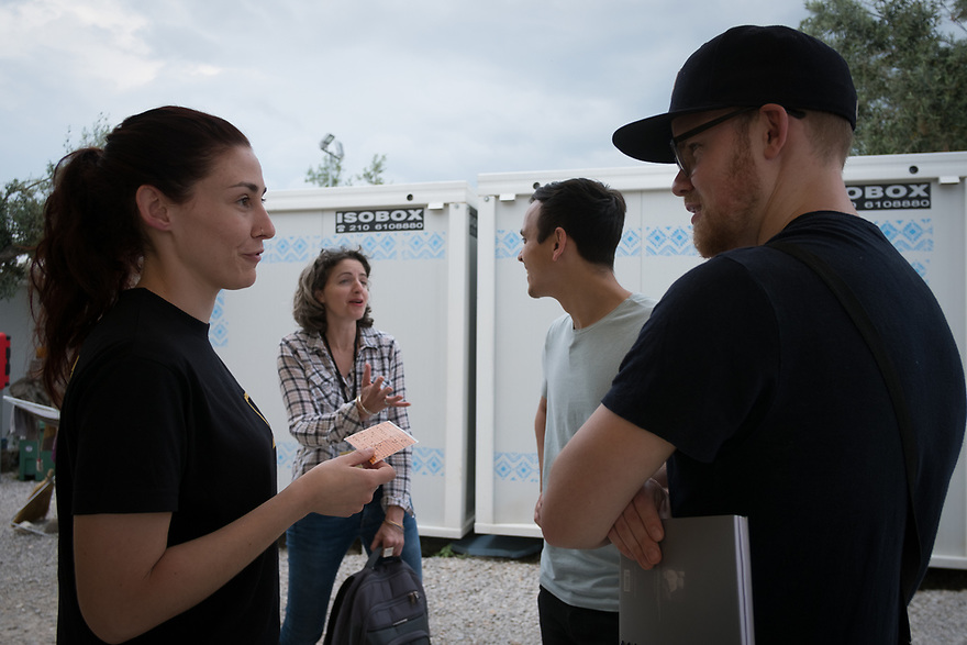 Mitch Moffit and Greg Brown, creators of ASAP Science YouTube Channel visit Kara Tepe Site on the Greek island of Lesvos, where hundreds of refugees are accommodated as they wait to their procedure. Interview subjects include Dimitra Chamalleli, KT Environmental Health Officer.