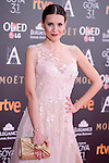 Elena Ballesteros attends to the Red Carpet of the Goya Awards 2017 at Madrid Marriott Auditorium Hotel in Madrid, Spain. February 04, 2017. (ALTERPHOTOS/BorjaB.Hojas)