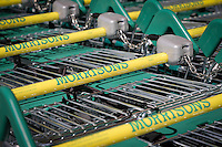 Morrisons Supermarket - shopping trollies