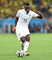 FUSSBALL WM 2014  VORRUNDE    GRUPPE E     Ecuador - Frankreich                  25.06.2014 Blaise Matuidi (Frankreich) am Ball