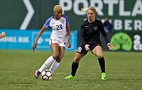 Portland, Oregon - Wednesday March 29, 2017: during the Spring Invitational pre season tournament at Providence Park.