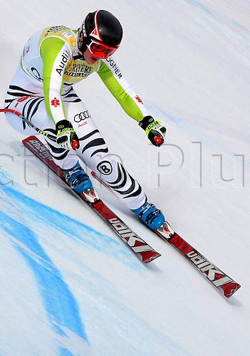 21 01 2011  FIS WC Cortina D Ampezzo Super G women  Ski Alpine FIS World Cup Super G for women Picture shows Gina Stechert ger