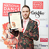 The Critics' Circle National Dance Awards 2016 <br /> at the Lilian Baylis Studio, Sadler's Wells, London, Great Britain <br /> <br /> 6th February 2017 <br /> <br /> Chase Johnsey<br /> WINNER <br /> Dancing Times Award for Best Male dancer <br />  <br /> <br /> Photograph by Elliott Franks <br /> Image licensed to Elliott Franks Photography Services