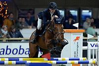 ZUIDBROEK - Paardensport, ICCH Zuidbroek, springen internationaal 1.40 klassiek, 03-01-2019, Daan van Geel met Djam