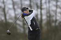 Jess Adams (England) during the second round of the Irish Girls' Open Stroke Play Championship, Roganstown Golf Club, Swords, Ireland. 14/04/2018.<br /> Picture: Golffile | Fran Caffrey<br /> <br /> <br /> All photo usage must carry mandatory copyright credit (&copy; Golffile | Fran Caffrey)