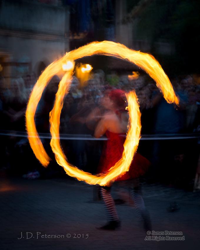 Día de Los Muertos Fire Dance #2, Sedona, Arizona